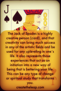 How The Jack Of Spades Helps Us Stay Out Of The Drama