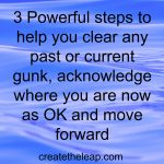 Acknowledge Where You Are Now As OK