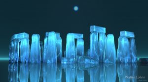 """Crystal Stonehenge"" by Walter Colvin"