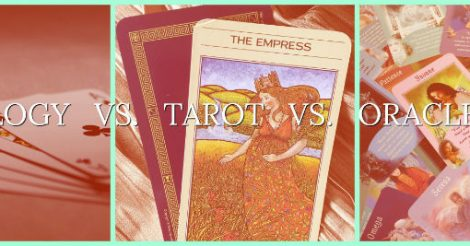 Cardology vs. Tarot vs. Oracle Cards